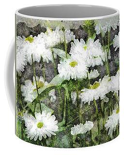 White Drops.. Coffee Mug
