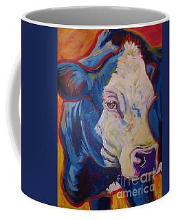 White Face Cow Coffee Mug by Jenn Cunningham