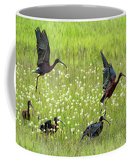 White-faced Ibis Rising, No. 1 Coffee Mug