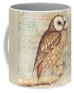 White Faced Owl Coffee Mug