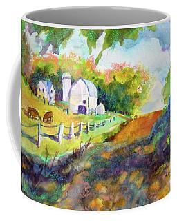 White Farmyard 2004 Coffee Mug