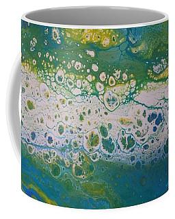 White Flow Coffee Mug