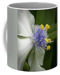 Coffee Mug featuring the photograph White Flower by Jean Noren