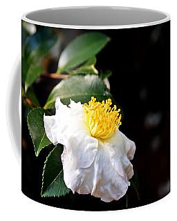 White Flower-so Silky And White Coffee Mug