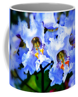 White Flowers Coffee Mug by Craig Walters