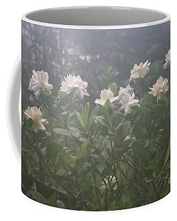 White Flowers Coffee Mug by Mary-Lee Sanders