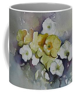 White Flowers, Yellow Flowers... Coffee Mug