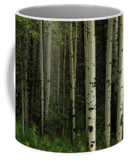 Coffee Mug featuring the photograph White Forest by James BO Insogna