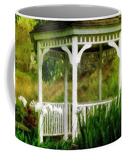 White Gazebo Coffee Mug