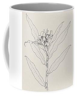 White Ginger Coffee Mug
