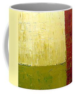 White Green And Red Coffee Mug