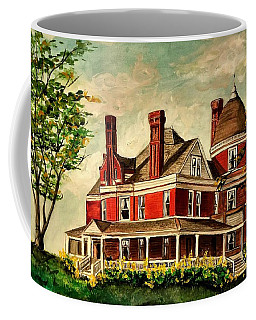 White Hall Coffee Mug