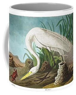 White Heron Coffee Mug