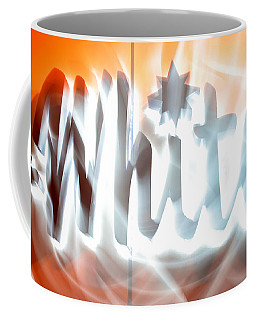 White Hot Coffee Mug