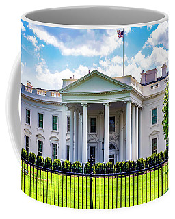 White House Coffee Mug by Anthony Baatz