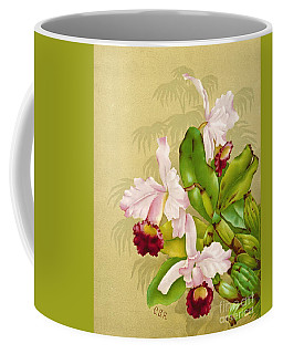 White House Orchid 1892 Coffee Mug