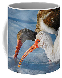 White Ibises Coffee Mug