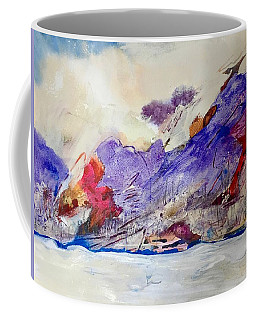 White Ice Coffee Mug