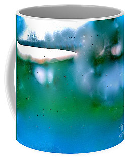 White Ice Coffee Mug