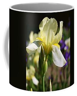 White Iris 2 Coffee Mug by Bruce Bley