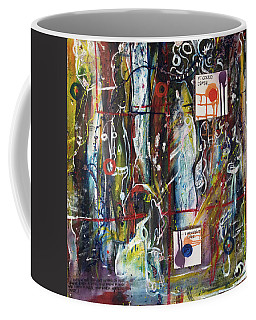 White Lies, Yellow Teeth Coffee Mug