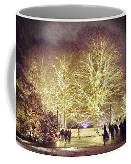 White Light Christmas Coffee Mug