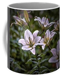 White Lilies #g5 Coffee Mug