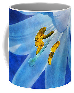 Coffee Mug featuring the digital art White Lilly by Ian Mitchell