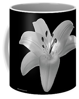White Lily 2 Coffee Mug