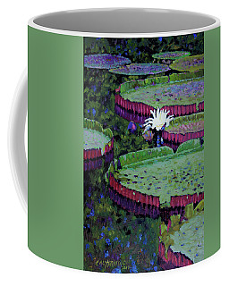 White Lily Of Peace Coffee Mug