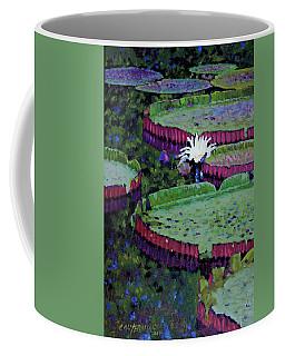 White Lily Of Peace Coffee Mug