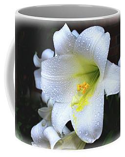 Lily With Droplets Coffee Mug