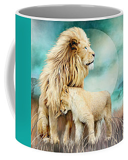 White Lion Family - Protection Coffee Mug