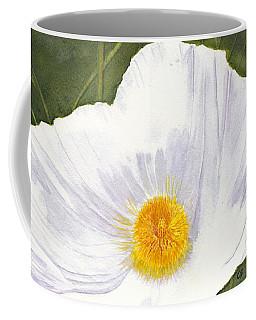 White Matilija Poppy  Coffee Mug