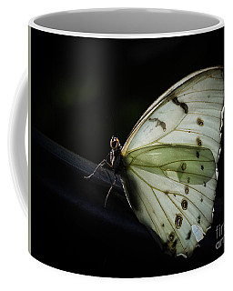 White Morpho In The Moonlight Coffee Mug
