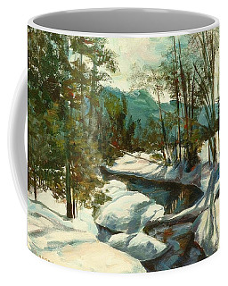 White Mountain Winter Creek Coffee Mug