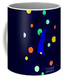 White Mouse Uv Coffee Mug