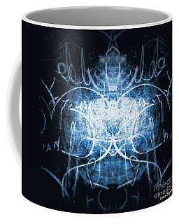 White Noise Coffee Mug by Leanne Seymour