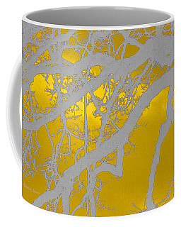 White Oak -yellow Orange Coffee Mug