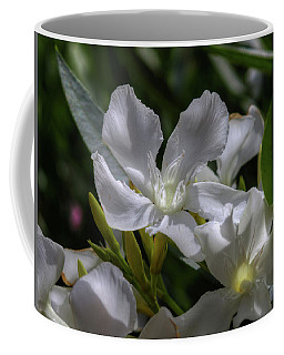 White Oleander Coffee Mug