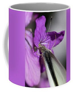 White On Pink Coffee Mug