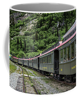 White Pass And Yukon Railway Coffee Mug