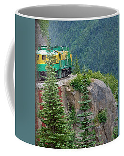 White Pass Train Alaska - Canada Coffee Mug