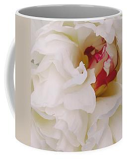 White Petals Coffee Mug