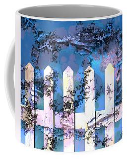 White Picket Fence Coffee Mug