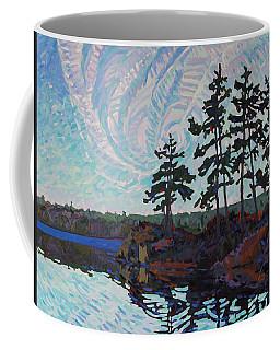 White Pine Island Coffee Mug