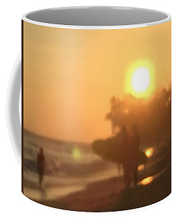 White Plains Beach Coffee Mug