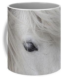 White Pony Coffee Mug