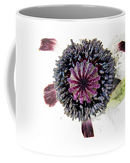 Coffee Mug featuring the photograph White Poppy by Stephanie Moore