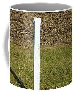White Post 1 Of 5 Coffee Mug by Tina M Wenger